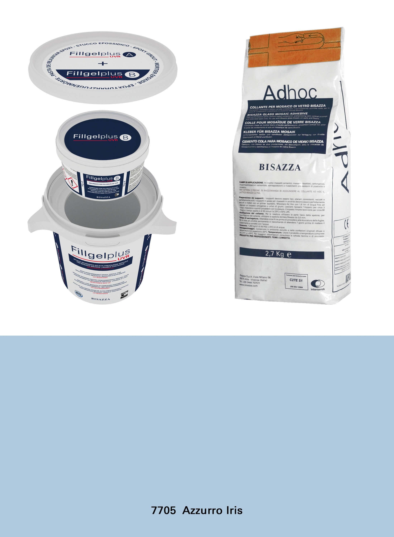 Installation Kit UVR - 7705 azzurro iris