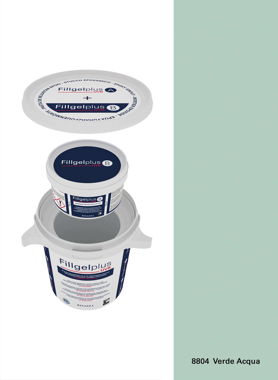 Fillgel Plus UVR - 8804 verde acqua