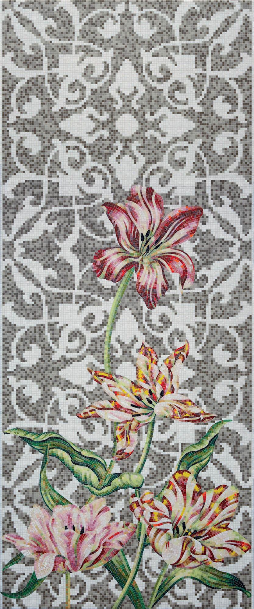 Tulips Grey Single