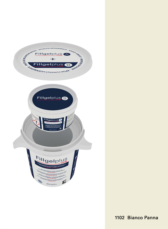 Fillgel Plus UVR - 1102 bianco panna