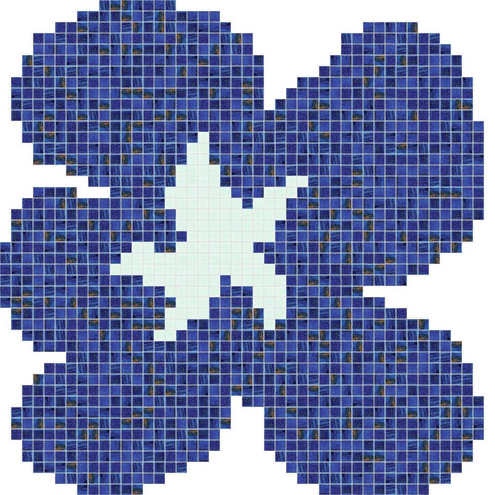 Fiore Blu Grande