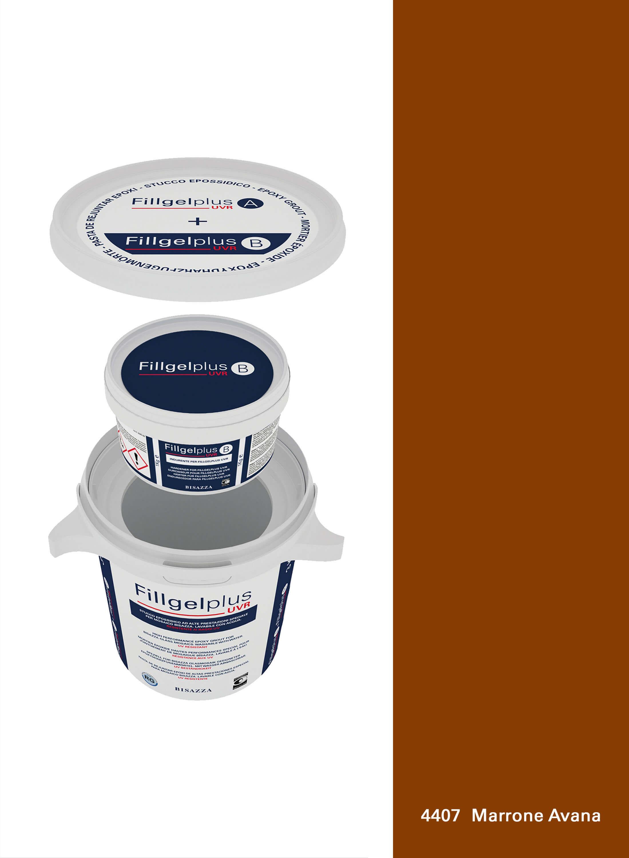 Fillgel Plus UVR - 4407 marrone avana
