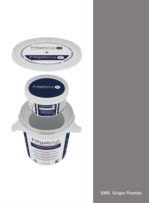 Fillgel Plus UVR - 3305 grigio piombo