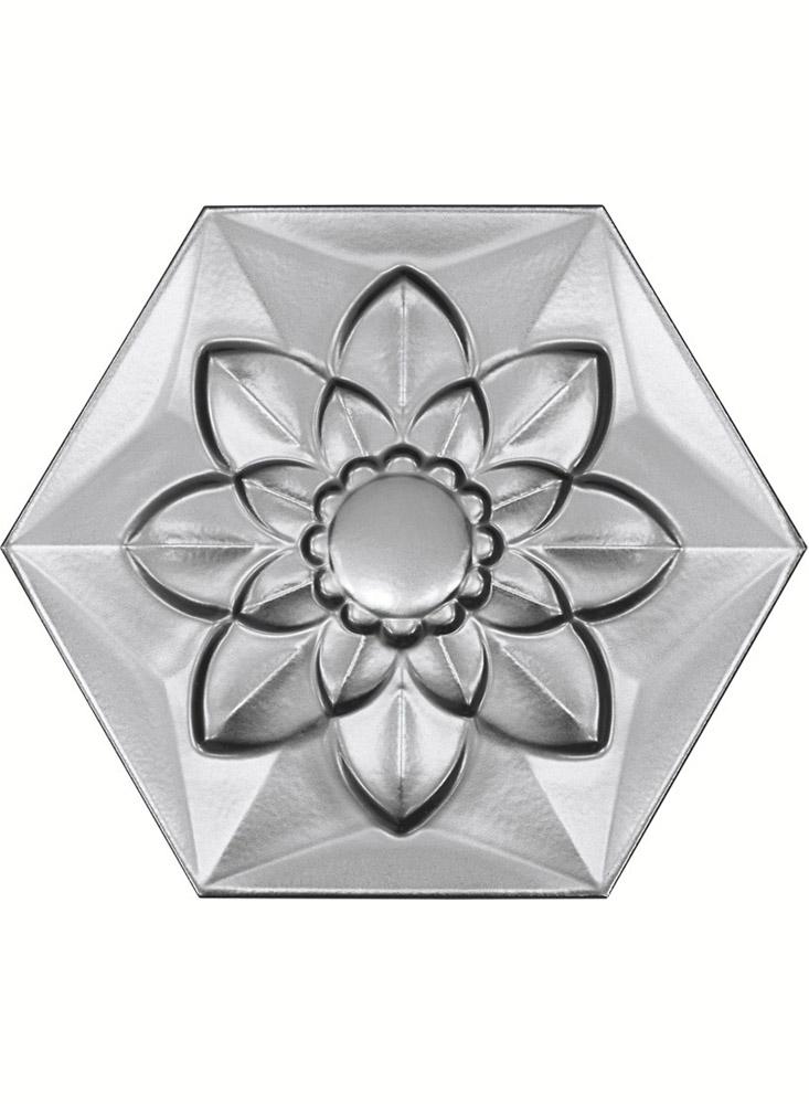 Platinum Frozen Flower