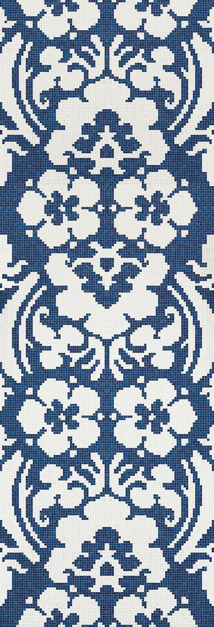 Decoupage Bleu