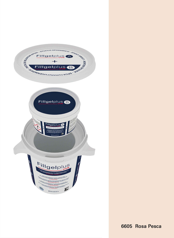Fillgel Plus UVR - 6605 rosa pesca