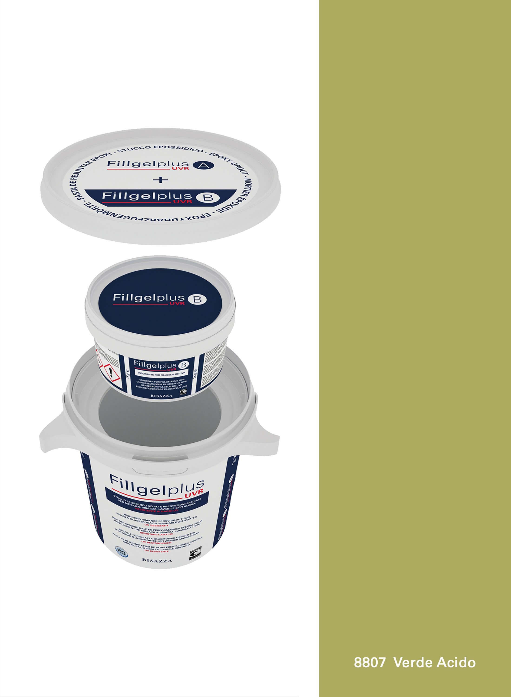 Fillgel Plus UVR - 8807 verde acido