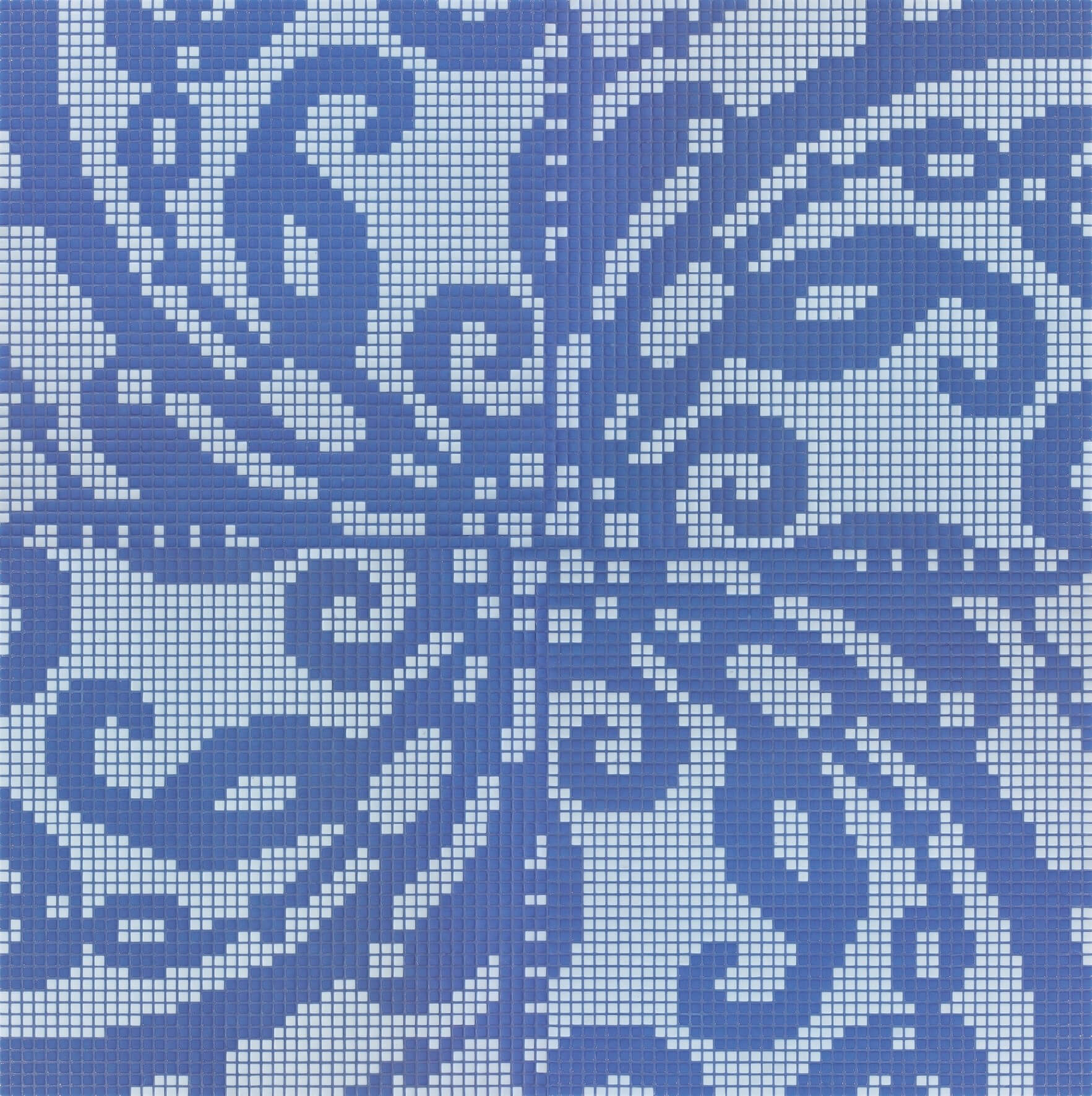 Embroidery Blue