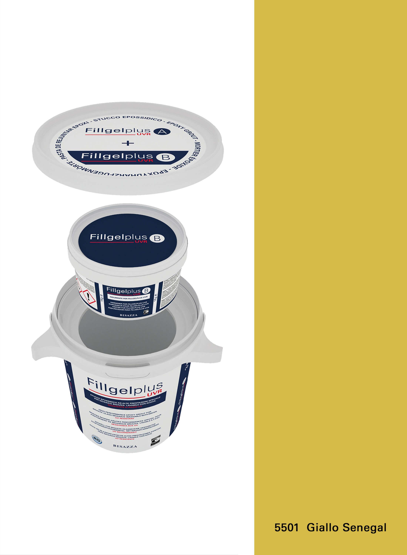 Fillgel Plus UVR - 5501 giallo senegal