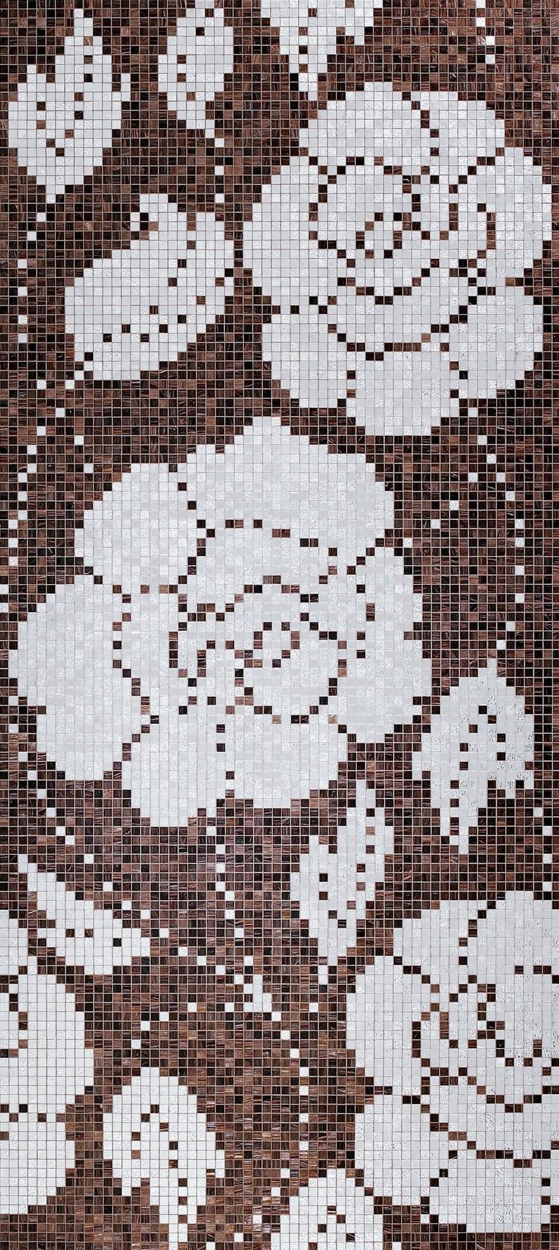 Winter Flowers Oro Nero