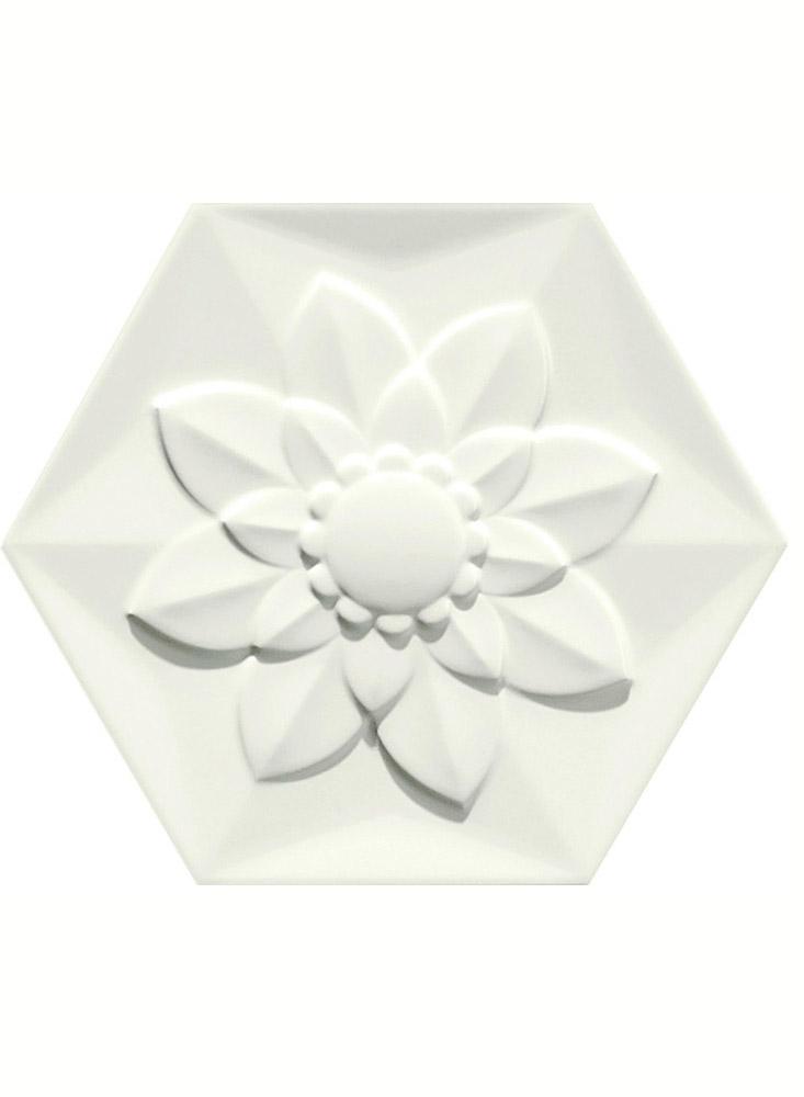 White Frozen Flower