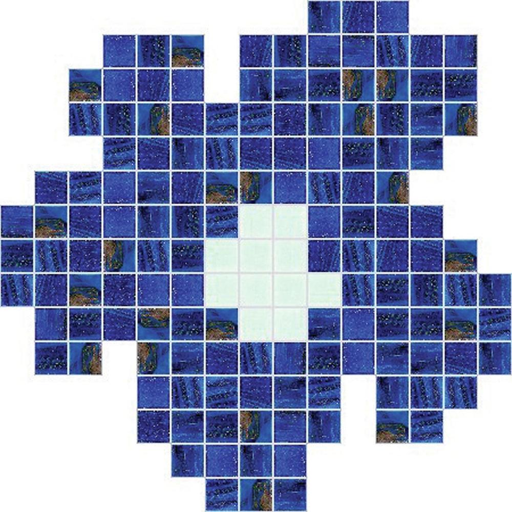 Fiore Blu Piccolo