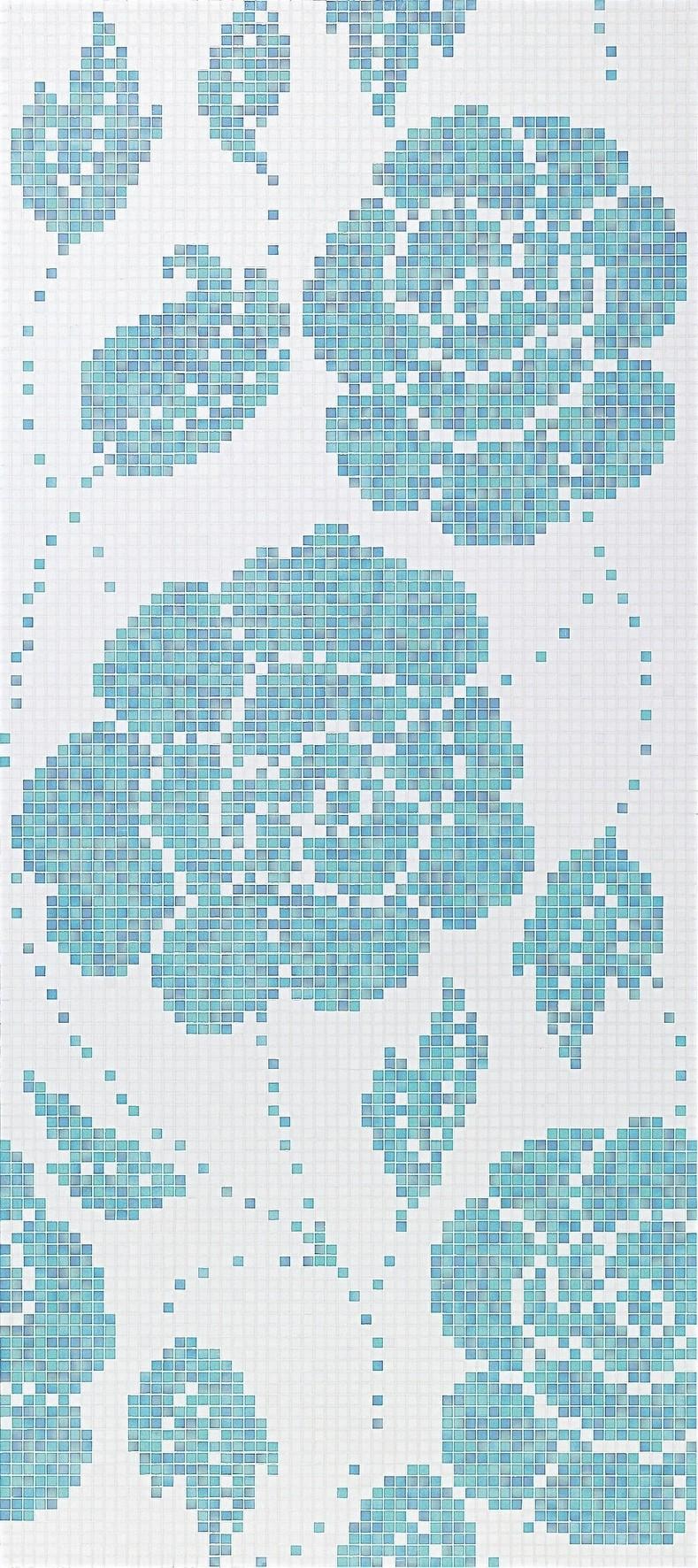 Winter Flowers Blue