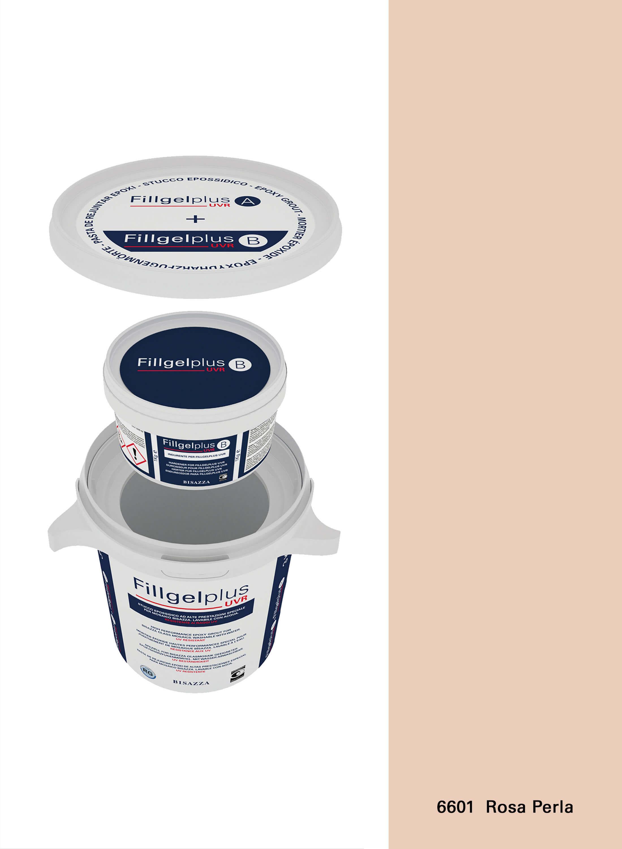 Fillgel Plus UVR - 6601 rosa perla